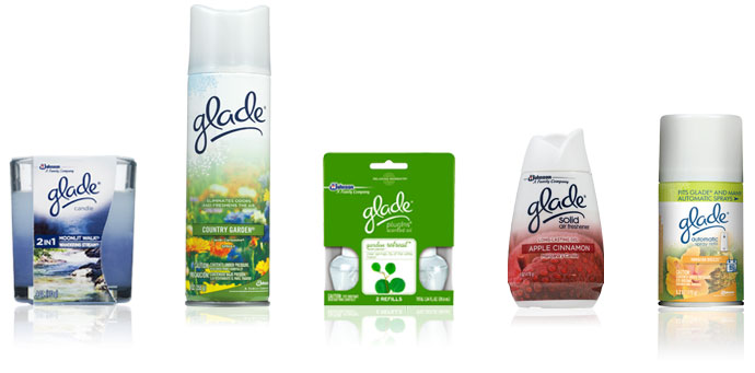 Glade packaging examples